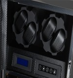 Tiara II Carbon Fibre 4 Watch Winder (detail 4)